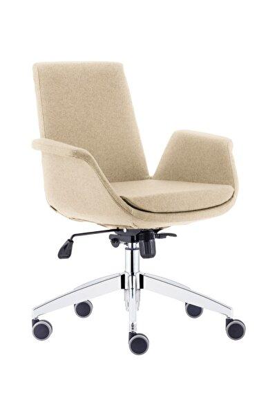 Sandalye Online Marisol Çalışma Sandalyesi Ofis Sandalyesi Bilgisayar Sandalyesi Krem