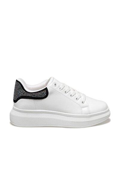 Butigo Kadın Beyaz Havuz Taban Sneaker 20k-987