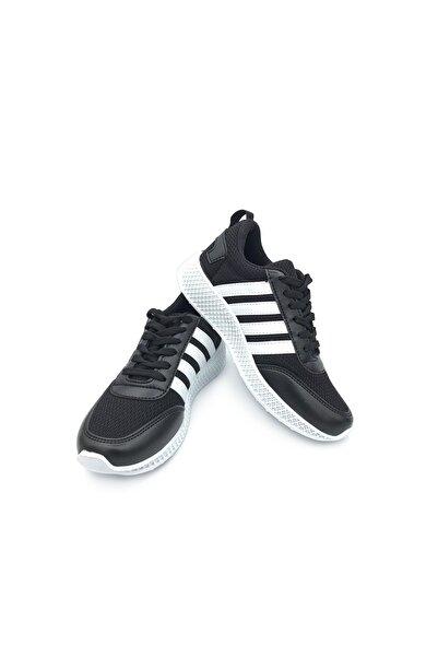 walkie Kadın  Siyah Beyaz Escape  Spor Ayakkabı