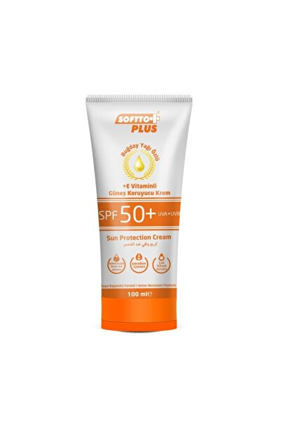 Softo Plus Buğday Yağı Özlü Güneş Kremi Spf+50 100 ml