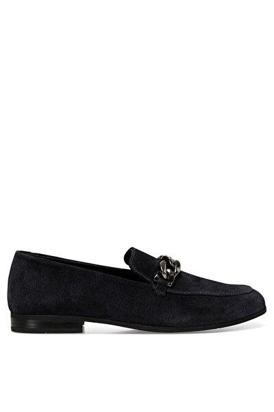 Nine West Semla Lacivert Kadın Loafer Ayakkabı