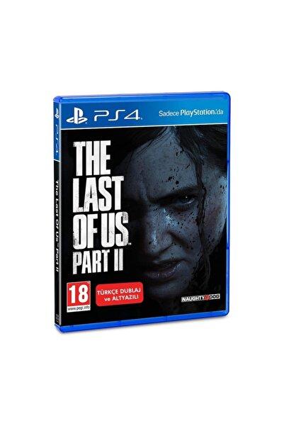 Sony Ps4 The Last Of Us Part 2 Türkçe Dublaj Ve Altyazılı
