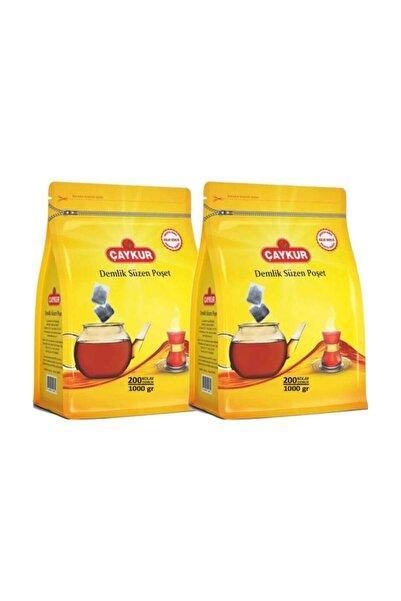 Çaykur Demlik Süzen Poşet Çay 5 gr 200'lü 2 Paket 400 Adet
