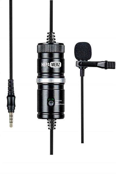 Hepa-Merz Hepa Merz Hm1 Youtuber Yaka Mikrofonu Kamera Pc Telefon (Android-ios)