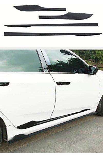 Universal Honda Civic Fc5 (16-20) Pianoblack Yan Kapı Çitaları
