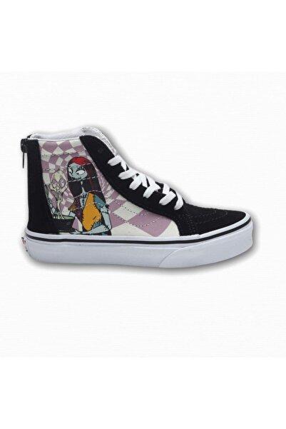 Vans Unisex Çocuk Siyah Zip Sneaker Uy Sk8-hi