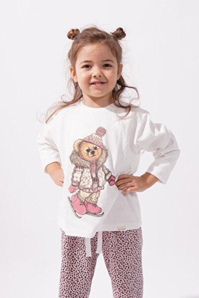 Katia&Bony Kız Çocuk Pijama Takımı  Teddy Bear