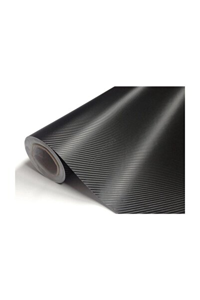 Eng Karbon Fiber Folyo 300*127 Cm Siyah Tam 3 Metre