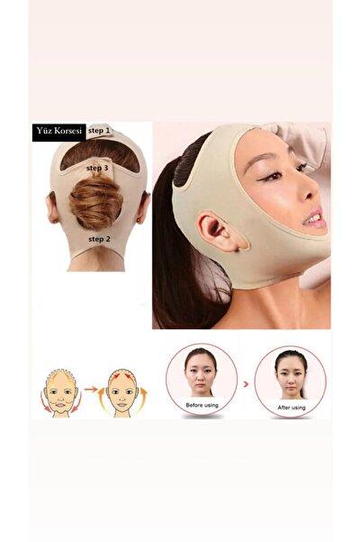 Htcimaj Yüz Korsesi Çene Boyun Bandı Yüz Liposuction,yüz Gıdı Yanak Gıdık Toplama