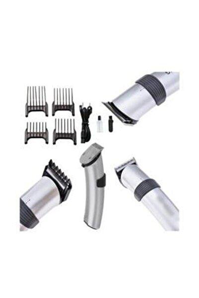 caddeoutlet 609 Profesyonel Şarjlı Saç Sakal Kesme Traş Tıraş Makinesi