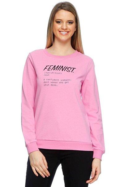 Vero Moda Kadın Lila Sweatshirt 503226282