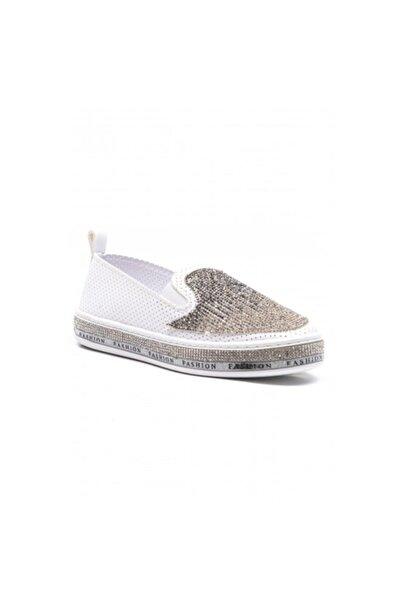 Markopark Kadın Beyaz Ayakkabı 352