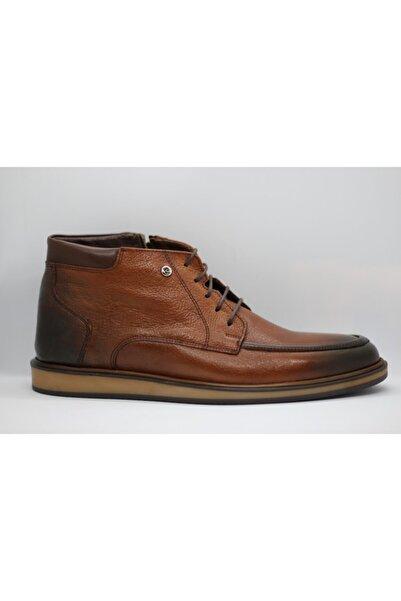Pierre Cardin Erkek Kahverengi Bağcıklı Ayakkabı 1190806