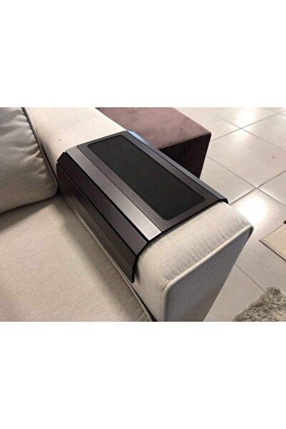 ARKITEKT EX Ahşap Katlanır Portatif Yan Sehpa 50cmx27.8cm