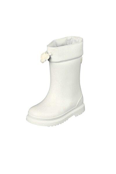 IGOR Chufo Cuello Çocuk Beyaz Yağmur Çizmesi 21-29