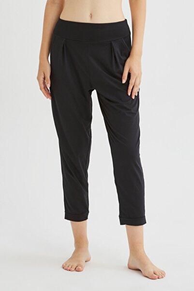 Penti Kadın Siyah Yoga Pantolonu