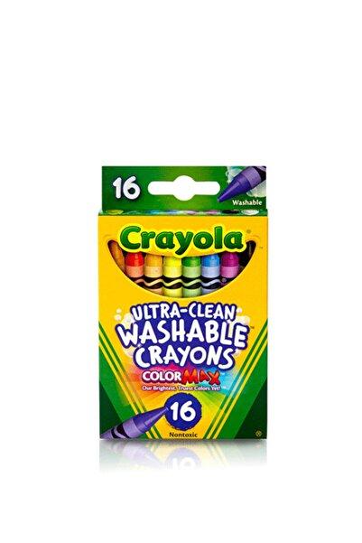 Crayola Sarı Yıkanabilir Boya Kalemi 16 Renk