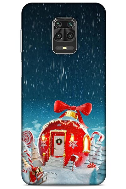 Lopard Xiaomi Redmi Note 9s Kılıf Snowix (9) Kılıf Kırmızı