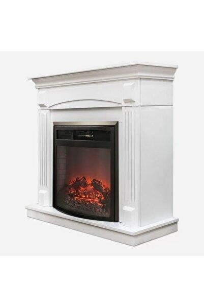 ASNORM Wf2613 1800 Watt Dekoratif Beyaz Şömine