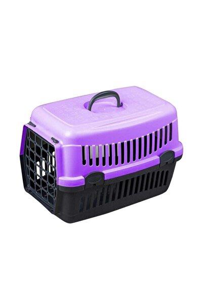 SERA Mor Kedi Köpek Taşıma Çantası 50x34x33cm