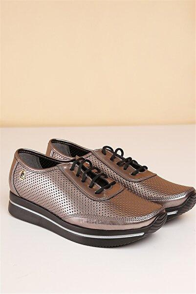 Pierre Cardin Kadın Platin Günlük Ayakkabı  Pc-50100