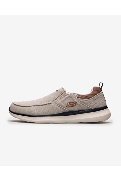 SKECHERS Delson 2.0 - Larwın 210025 Snd Erkek Bej Günlük Ayakkabı