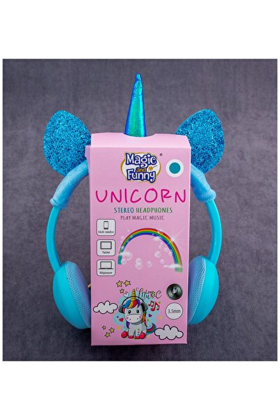 CDY Mavi Unicorn Kulaklık