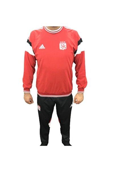 adidas Sivasspor Kırmızı Eşofman Takımı