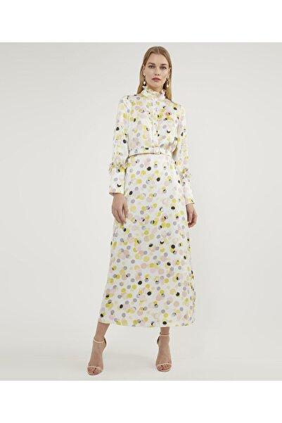 Aker Puantiyeli Elbise V42870156