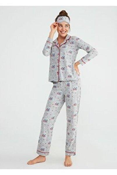 Koalina Maskulen Pijama Takımı
