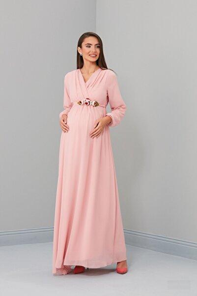 Entarim Hamile Baby Shower Elbisesi 6002
