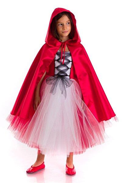 Tameris Kostüm Kırmızı Başlıklı Kız Kostümü Pelerinli