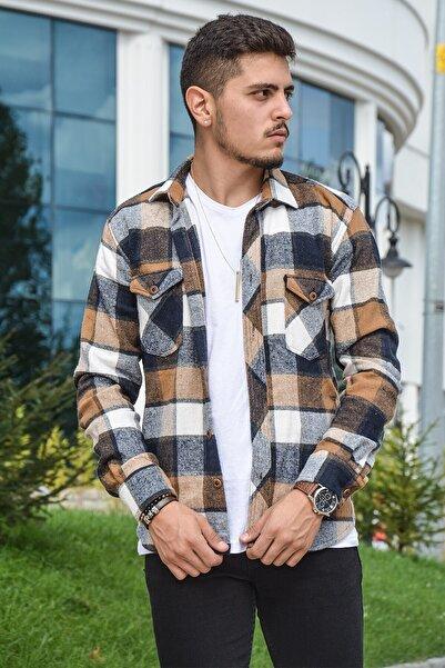 Terapi Men Erkek Kareli Oduncu Gömleği 20k-4300552-01 Kahverengi