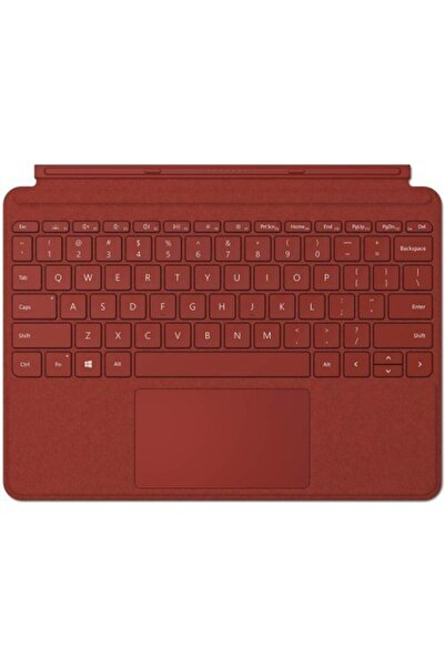 MICROSOFT Surface Pro Tipi Kapak–ingilizce Klavye-aydınlatmalı–model: Ffq-00101-poppy Kırmızısı