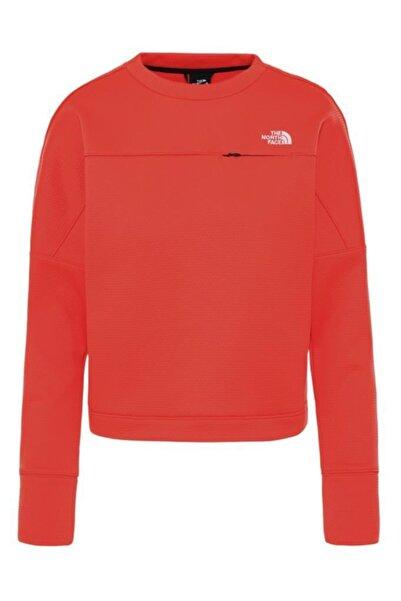 THE NORTH FACE Hikesteller Kadın Sweatshirt Kırmızı
