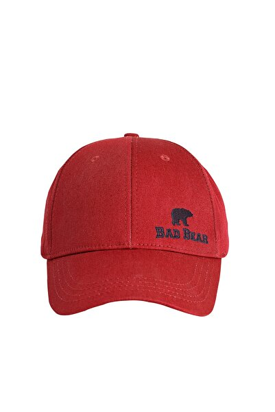 Bad Bear Pure Cap Kırmızı Spor Şapka