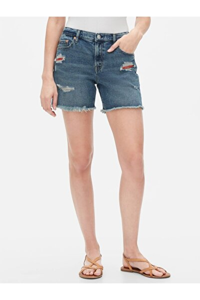 GAP Destructed Denim Şort