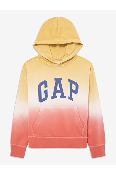 GAP Kids Logo Kapüşonlu Sweatshirt
