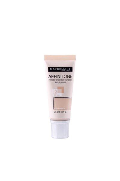 Maybelline New York Affinitone No:3 Light Sand Beige 30ml