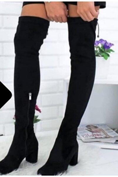 Sedef Kadın Dizüstü Streç Çizme