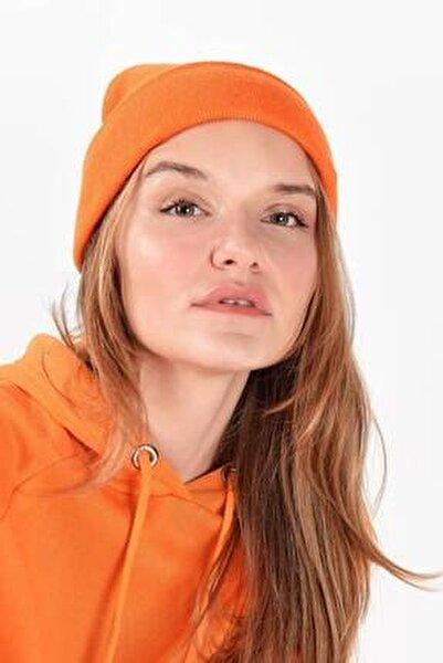 Kadın Turuncu Şapka Şpk12835 - Aks -e5 ADX-0000020470