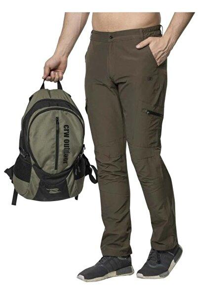 Crozwise Erkek Outdoor Pantolon - Haki - L