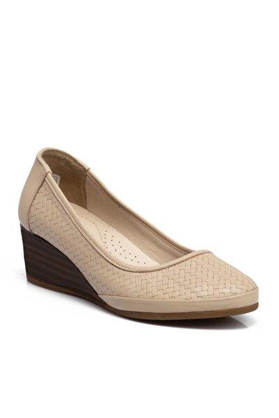 Tergan Bej Kadın Ayakkabı 64499a25