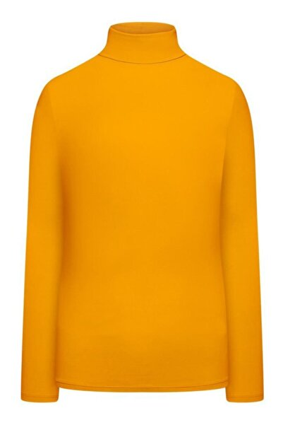 Faberlic Sarı Koyu Renkli Kadınlar Için Boğazlı Body S (42-44)