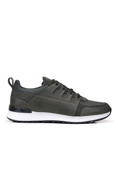 Nevzat Onay Hakiki Deri Gri Sneaker Erkek Ayakkabı -11782-