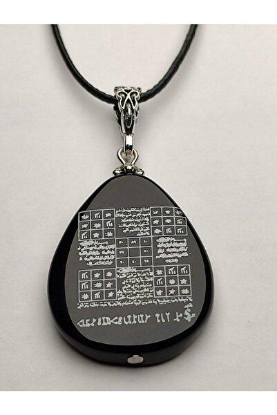 Mevlana Gümüş Akik Taşı Üzerine Koruma Tılsımı Arkası Süleyman Mührü