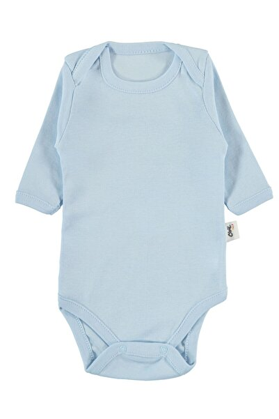 Civil Baby Bebek Çıtçıtlı Badi 0-24 Ay Mavi