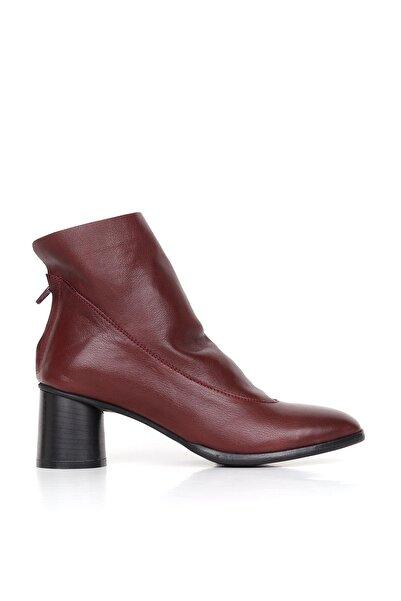 BUENO Shoes Hakiki Deri Kadın Topuklu Bot 01wr1103