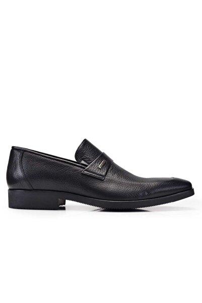 Nevzat Onay Hakiki Deri Siyah Günlük Loafer Erkek Ayakkabı -11271-