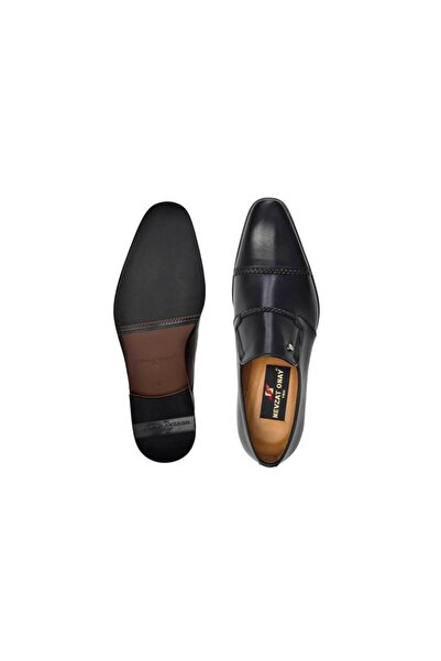Nevzat Onay Hakiki Deri Siyah Günlük Loafer Neolit Erkek Ayakkabı -11447-